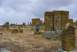 Dzień 6. Noratus - największy cmentarz chaczkarów w Armenii.