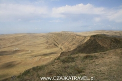Dzień 4. Azerbejdżan widziany z Dawid Garedża.