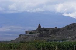 Dzień 4. Khor Virap z Araratem w tle.