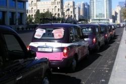 Dzień 9. Taksówki w Baku.