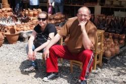 Kolejny zgrany duet - Dato i pilotka Maria