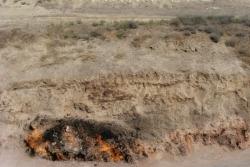 Dzień 11. Płonące skały - Yanar Dag