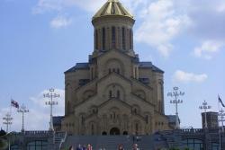 Dzień 2. Zwiedzanie Tbilisi. Katedra Cminda Sameba.